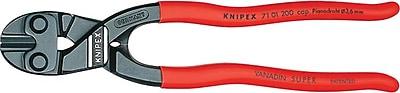 CoBolt® Black Atramentized Center Style 0 Bolt Cutter, 6 mm Soft Wire, 8 in (OAL)