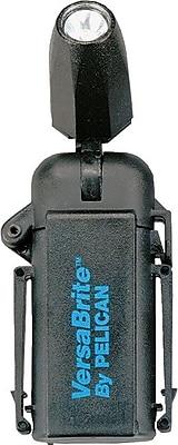 VersaBrite™ 2 3V 0.6A 1.8W AA Alkaline Black Xenoy Polymer Resin 2250 Deluxe Flashlight, Xenon