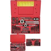 HANSON® High Carbon Steel 66 pcs Metric Plug Tap And Hexagonal Die Set