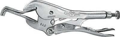 VISE-GRIP® The Original™ Alloy Steel Locking Panel Clamp, 9 in (L), 7/32 in (D) Throat