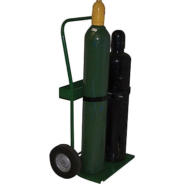 Saf-T-Cart™ Series 800 Standard Cylinder Cart, 19 in Capacity, 45 in (H) x 22 in (W)