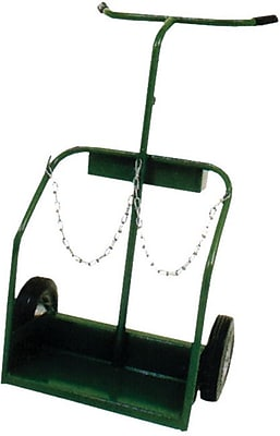 Saf-T-Cart™ Series 900 Cylinder Cart, 17 in Capacity, 45 in (H) x 21 in (W)