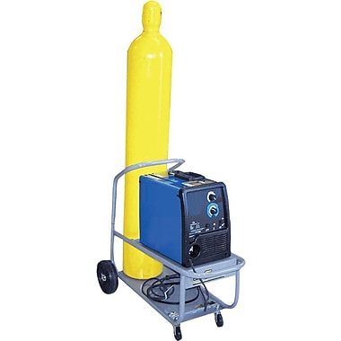 Saf-T-Cart™ Running Gear Series Cylinder Cart, 9 1/2 in Capacity, 17 in (H) x 17 in (W)