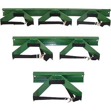 Saf-T-Cart™ Wall Bracket, 3 in (H) x 14 in (W), For 9 1/2 in (Dia) Cylinder