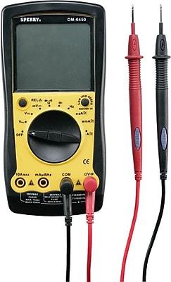 Sperry® Instruments Series 64 Auto Ranging Digital Multimeter, 9 Functions, 35 Ranges