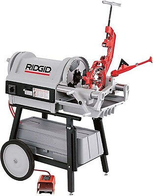 Ridgid® 1224 Power Drive Threading Machine, 120 V At 60 Hz, 1 1/2 hp, 1/2-4 NPT