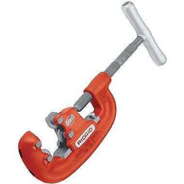Ridgid® Screw Feed Heavy Duty Pipe Cutter With 4 Wheel, 3/4 - 2 in (OD)