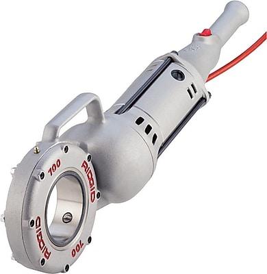 Ridgid® 700 Cast Al Power Drive Hand Held Threading Machine, 115 V At 50/60 Hz, 1/2 hp, 1/8-2 NPT