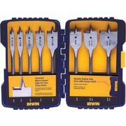 SPEEDBOR® 8 pcs Standard Length Spade Bit Set, 3/8 - 1 1/2 in By 1/8 in