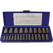 HANSON® 532 Multi Spline Screw Extractor Set, 25 pcs