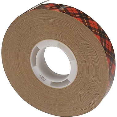 Scotch® Clear ATG Adhesive Transfer 400 Tape, 36 yd (L) x 1/2 in (W)