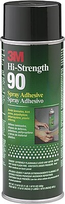 3M Scotch Weld Hi-Strength Spray Adhesive 24 oz., 12/Carton