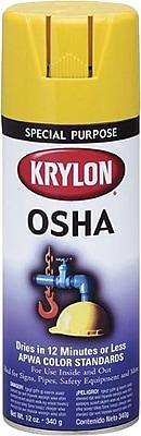 Krylon® 12 oz Aerosol Can Spray Enamel, Safety Yellow