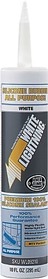 White Lightning All Purpose Industrial Sealant 10 oz., 12/Carton
