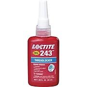 Loctite® 243™ Medium Strength Blue Threadlocker, Blue, 250 mL