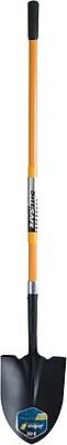 True Temper® Tempered Steel J-150 Square Shovel, 9 1/2 in (W), 11 1/2 in (L)