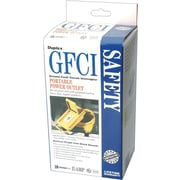 CCI® Yellow ABS GFCI Plug, 18 - 12 AWG Conductor, 120 VAC, 15 A