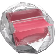 "Post-it® Pop-up Dispenser for 3"" x 3"" Notes, Clear, Diamond-Shaped (DIA330)"