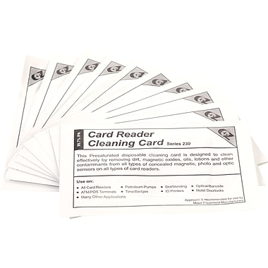 Clean Card International Credit Cleaning Kit 10 Pk