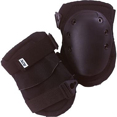AltaFLEX® Superflex™ AltaLok™ Black Nylon Cover Rubber Cap Dual Velcro Strap With Buckle Knee Cap