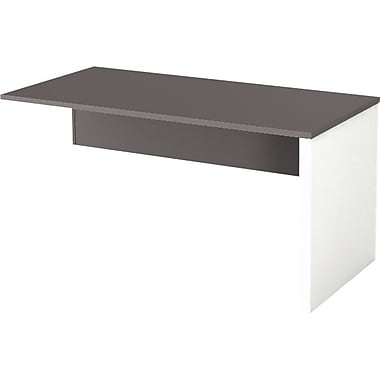 Bestar Connexion Collection Return Table, Sandstone & Slate
