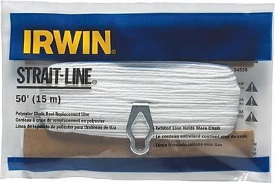Strait-Line® Twisted Cotton 100 Replacement Chalk Line, 100 ft (L)