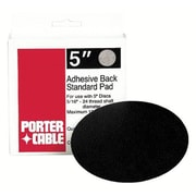Porter Cable® Replacement Standard Adhesive Back Pad, 5 in (Dia), For 7334, 7335 Orbital Sanders