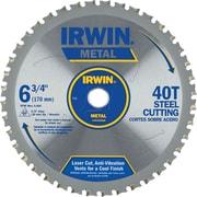 """Irwin® Tools® Metal Cutting Saw Blade, Ferrous Steel,  7-1/4"""",  48TPI"""