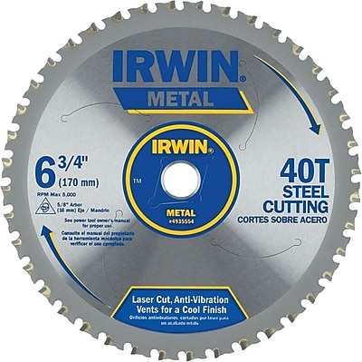 Irwin® Tool® Metal Cutting Circular Saw Blade, Ferrous Steel, 14