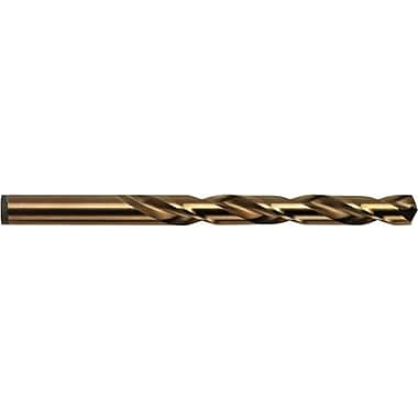 HANSON® Straight Shank AU2O3 Cobalt HSS 3016/631 Jobber Length Drill Bit, 1 1/4 in Flute, 7/32 in