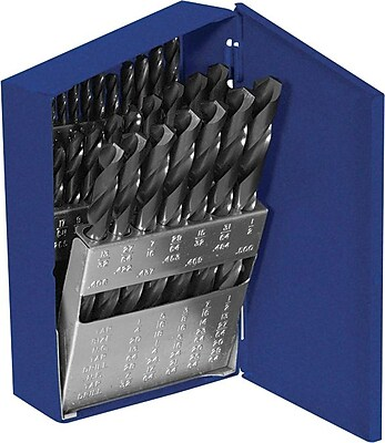 Irwin® Reduced Shank Bright HSS 29 pcs General Purpose Drill Bit Set, 1/16 - 1/2 in By 1/64 in