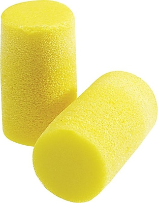 E-A-R® Classic® Yellow Foam Corded Earplug, 33 dB, 200 Pairs/Box