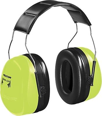 Peltor® Optime 105 Over The Head Earmuff, Hi-Viz Green, 30 dB