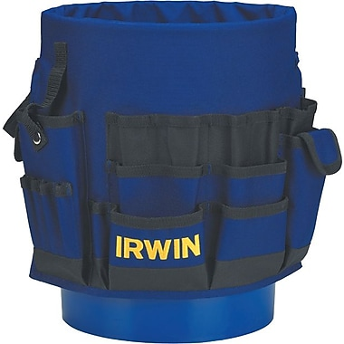 Irwin® 600D Polyester Pro Bucket Tool Organizer, 56 Compartments, 3 3/4 in (H)