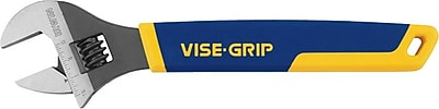 VISE-GRIP® Chrome Vanadium Steel Adjustable Wrench, 8 in (L), 1 1/8 in Opening