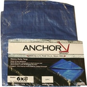 Tarps Polyethylene Woven Laminated Multiple Use Tarpaulin, 10 ft (L) x 8 ft (W)