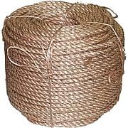 "Anchor Brand® 3 Strand Manila Rope, 600 Ft. (L), 1/2"" (Dia)"