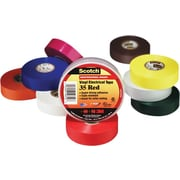 Scotch® Green PVC Backing 35 Color Coding Electrical Tape, 3/4 in (W), 66 ft (L), 7 mil (T)
