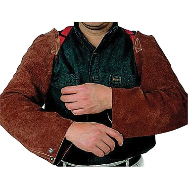 Anchor Brand® Lava Brown Split Cowhide Shoulder Snaps Strap Sleeve, 23 in (L)