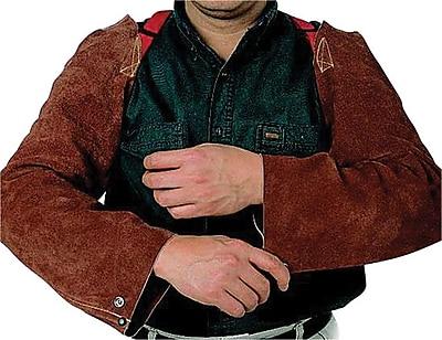 Anchor Brand® Lava Brown Split Cowhide Shoulder Snaps Strap Sleeve, 23 in (L)