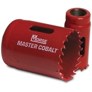 Master Cobalt® 4/6 TPI Bi-Metal Variable Pitch Hole Saw, 1 1/2 in (D), 7/8 in