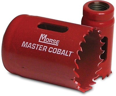 Master Cobalt® 4/6 TPI Bi-Metal Variable Pitch Hole Saw, 1 1/2 in (D), 1 in
