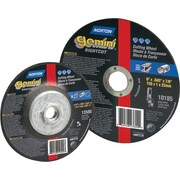 Gemini® Alumina Type 01 Flat Cut-Off Wheel, 4 1/2 in (OD), 0.045 in (T), 7/8 in Arbor