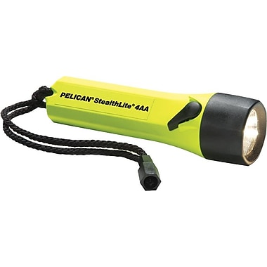 StealthLite™ 4 6V 0.53A 3.18W AA Alkaline Black LEXAN EXL Resin 2400 Flashlight, Xenon