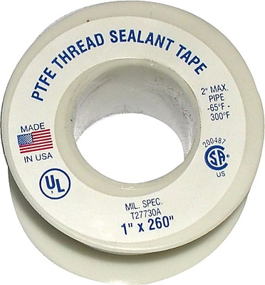 Plastomer™ Technetrics Thread Sealant Tape, 3/4x520'