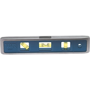 Klein Tools® Die Cast Aluminum Body Magnetic Torpedo Level, 9 in (L)