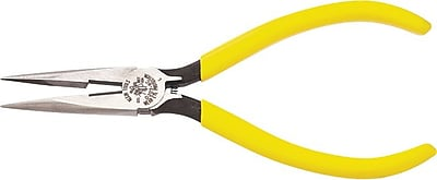 Klein Tools® Tool Steel Long Nose Side Cutting Plier, 7 3/16 in (L)