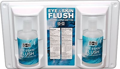Pac-Kit® Twin Bottle Emergency Eye Flush refill, 16 oz