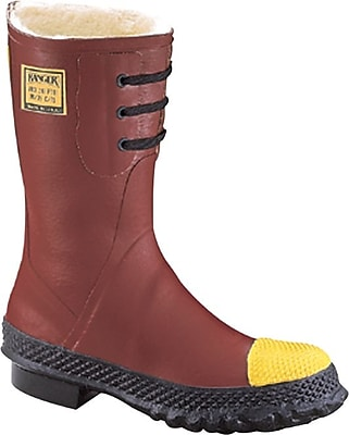 Ranger™ Insulated Steel Toe Boot, Steel Toe, Red, Size 12