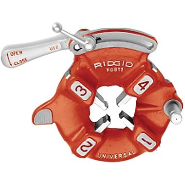 Ridgid® 811A Quick Open Threader Die Head, 1/8 - 2 NPT, For 2 in Threading Machines